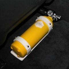 피레보(FIREVO) 디자인 소화기 차량용가죽거치대 및 스텐거치대