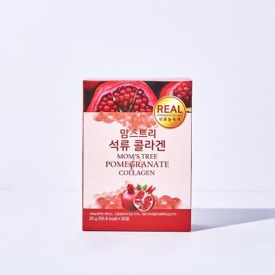 리얼방탄 맘스트리 석류콜라겐젤리 30스틱