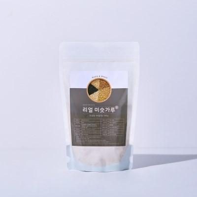 리얼방탄 무설탕 9곡 미숫가루 아침식사대용 식사대용