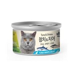 미우와우 흰살 참치&치어80gX24개(1박스)_(777018)