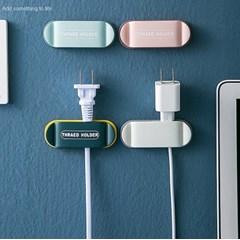 케이블홀더 책상 콘센트 USB 전선정리 고정 클립