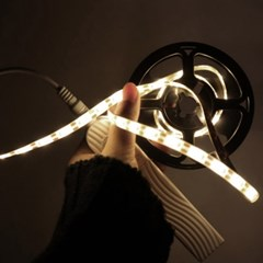 주방 거실 침실용 LED 센서 건전지 라인조명 1M 3M