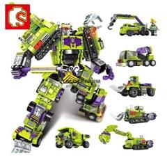 Sembo block 중국레고 변신로봇 합체 중장비 초등학생선물 103081