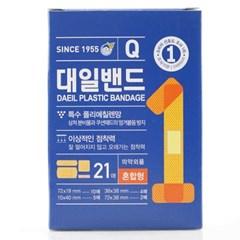 대일밴드 혼합형 21매x6갑