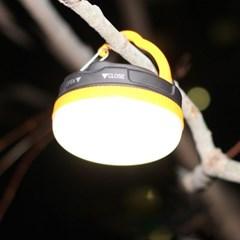 다용도 LED 캠핑등 캠핑조명 오렌지 미니랜턴
