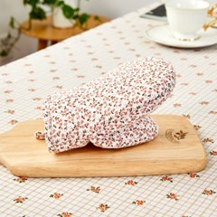 [모던하우스] L 여리여리한 잔꽃 주방장갑 핑크