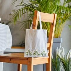 [모던하우스] L 린넨 데이지자수 손가방