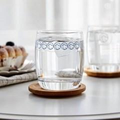 [모던하우스] L 통통 뱁새 유리컵 320ml 라이트블루