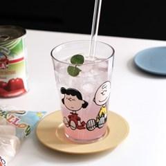 스누피 투명컵 500ml 대용량 맥주컵