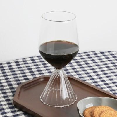 웨이블리 글라스 고블렛잔 와인잔 450ml/나혼자산다 소_(1825404)