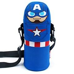 [마블] 캡틴아메리카 물병 크로스백 보냉물통주머니