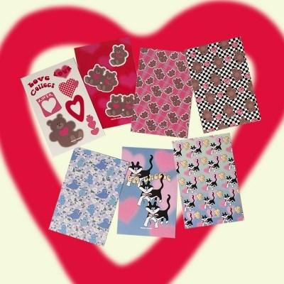 [뮤즈무드] postcard ver.20 love collect