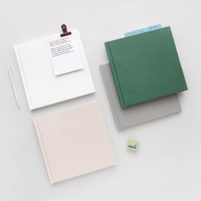 Blank book(square)