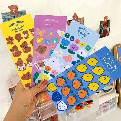 cute series deco stiker