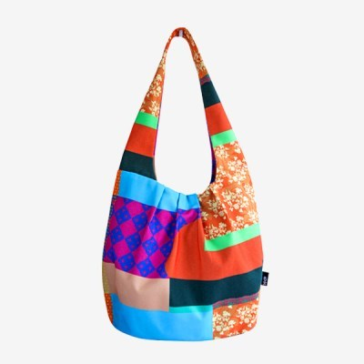 Gwanyu Shoulderbag-Patchwork of old pattern