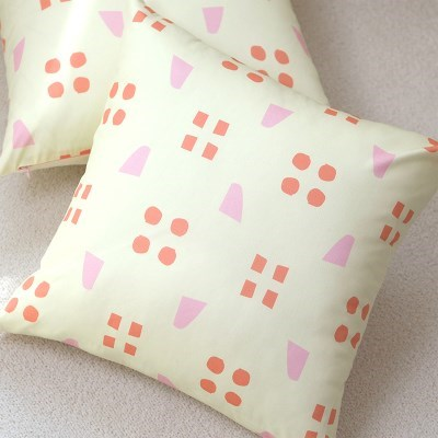 [cushion cover] spring pink
