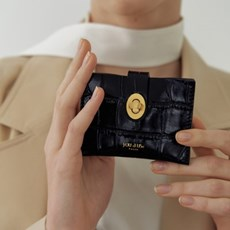 Roto wallet (Croc black)