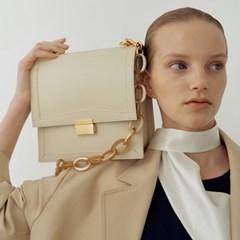 Brick square bag (Ivory)