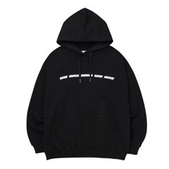 WE ARE WHO HOODIE_BLACK