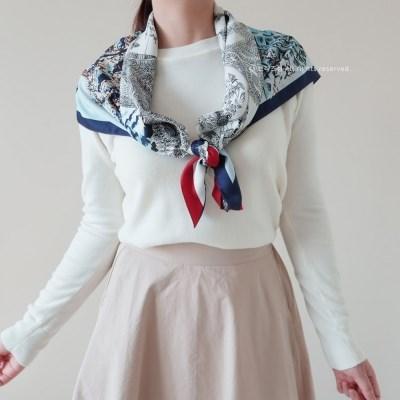 Daydream 까레 스카프 (2 colors)
