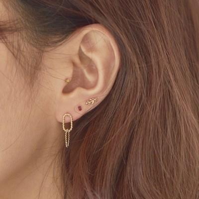 14K 홀릭 귀걸이