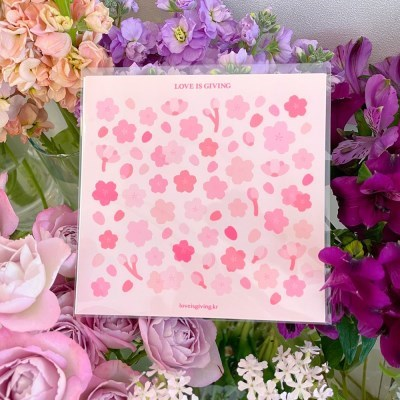 작고 반짝이는 벚꽃 (2ea)