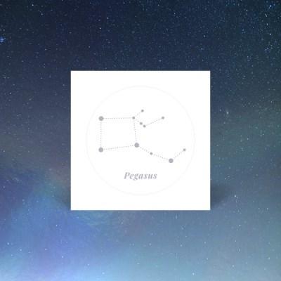 나만의 홀로그램 별자리 페가수스자리