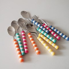 자체제작 마쉬멜로우 디저트 커트러리 (5color)