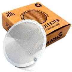 침출식 콜드브루 커피메이커 라운드 필터 58mm