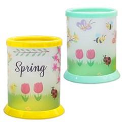 봄동산 꽃동산 연필꽂이