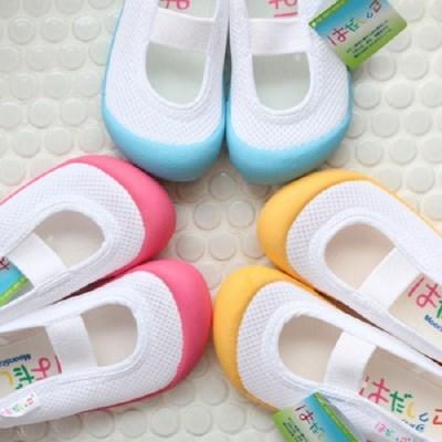 (일본) 문스타 메쉬 색깔코 실내화 어린이 유치원