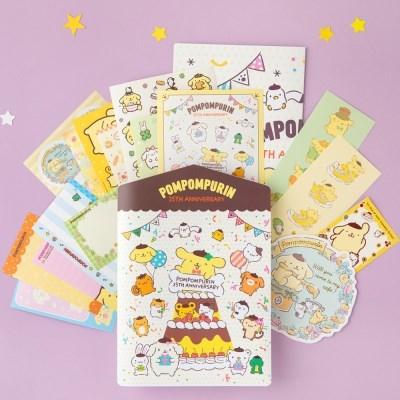 [Sanrio] 폼폼푸린 25주년 스티커팩