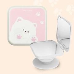 나인어클락 고양이 냥 캔디 미러 냥이 스마트톡 미러톡