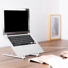 알루미늄 접이식 거치대 휴대용 높이조절 노트북 받침대