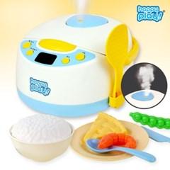 해피플레이 리틀쉐프 리얼밥솥 주방놀이 장난감 유아 아기 소꿉놀이