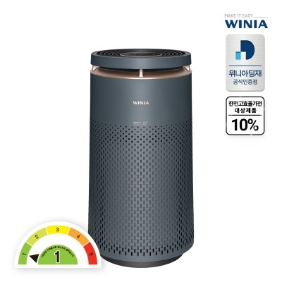 (전국무료배송) 위니아 1등급 공기청정기 WPA30E0TPMGP 100.2㎡