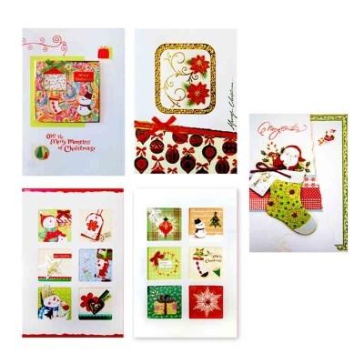크리스마스카드 FS111-12346(5종)