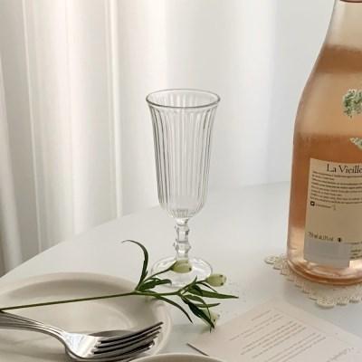 클로이 프렌치샴페인잔 (와인 파티 홈카페 선물용)