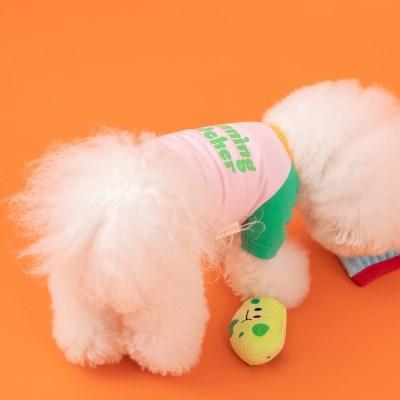 [mungmoong] 위닝 캐쳐 베이스볼 티셔츠 핑크
