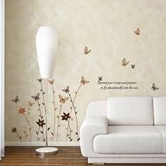 (그래픽스티커)나비숲2