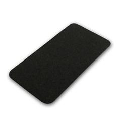 오알이펫 고무매트 / 스키니 사각 매트/블랙 / M1270