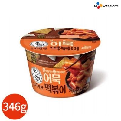 CJ 미정당 어묵 컵떡볶이 300g x 4개