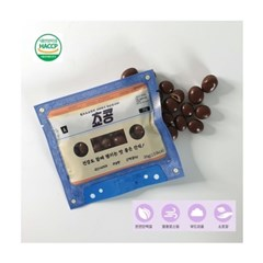 늘봄 쵸콩 (국내산 볶은 서리태 무설탕 초코볼) 30g 10봉