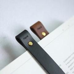 Leather Bookmark 2P Set _가죽 북마크 세트 2개