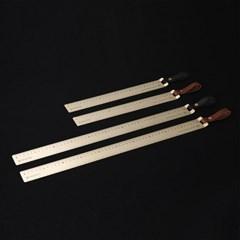LOG_Raw Brass Ruler [Wide Ver.] 전문가용 황동자 30cm / 50cm