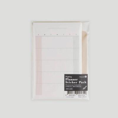 Digging Calendar Sticker Pack Small(Perm)
