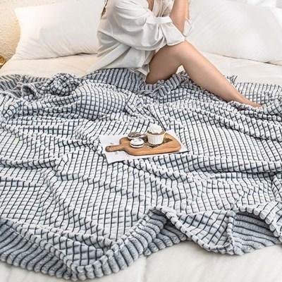거실 소파 겨울 담요 대형 침대 플란