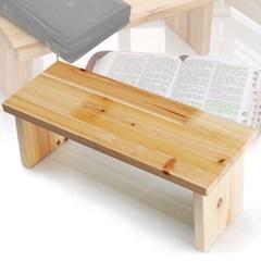 큰기도의자(디자인-무) 펜아저씨 원목의자