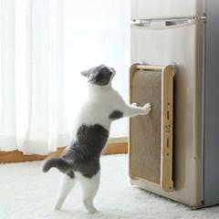 유리/냉장고 다용도 부착식 고양이 스크래쳐