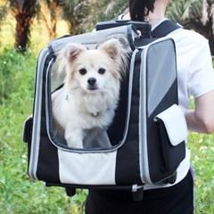 고양이 강아지 산책가방 이동장 하우스 백팩 캐리어